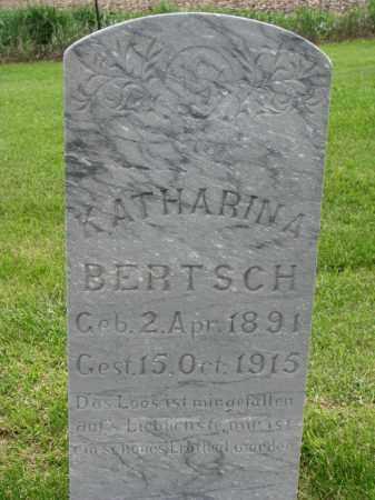 BERTSCH, KATHARINA - Hutchinson County, South Dakota | KATHARINA BERTSCH - South Dakota Gravestone Photos