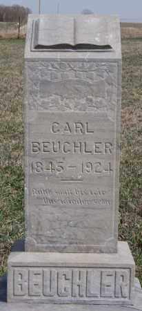 BEUCHLER, CARL - Hutchinson County, South Dakota   CARL BEUCHLER - South Dakota Gravestone Photos