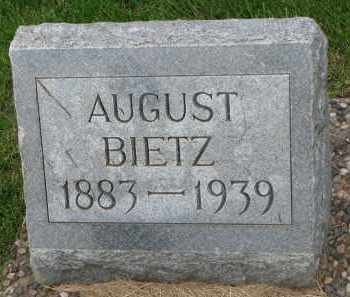 BIETZ, AUGUST - Hutchinson County, South Dakota | AUGUST BIETZ - South Dakota Gravestone Photos