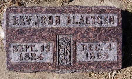 BLAETGEN, JOHN - Hutchinson County, South Dakota | JOHN BLAETGEN - South Dakota Gravestone Photos