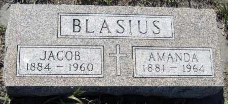 BLASIUS, AMANDA - Hutchinson County, South Dakota | AMANDA BLASIUS - South Dakota Gravestone Photos