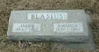 BLASIUS, JACOB - Hutchinson County, South Dakota | JACOB BLASIUS - South Dakota Gravestone Photos
