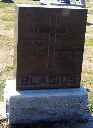 BECKER BLASIUS, SUSANNA - Hutchinson County, South Dakota | SUSANNA BECKER BLASIUS - South Dakota Gravestone Photos