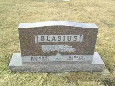 BLASIUS, GENEVA - Hutchinson County, South Dakota | GENEVA BLASIUS - South Dakota Gravestone Photos