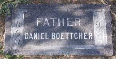 BOETTCHER, DANIEL - Hutchinson County, South Dakota | DANIEL BOETTCHER - South Dakota Gravestone Photos
