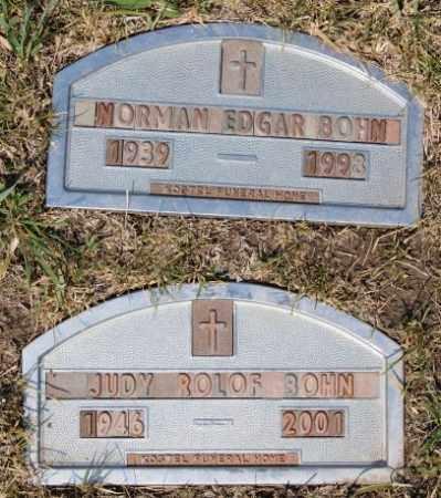 BOHN, NORMAN EDGAR - Hutchinson County, South Dakota | NORMAN EDGAR BOHN - South Dakota Gravestone Photos