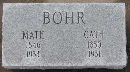 BOHR, MATH - Hutchinson County, South Dakota | MATH BOHR - South Dakota Gravestone Photos