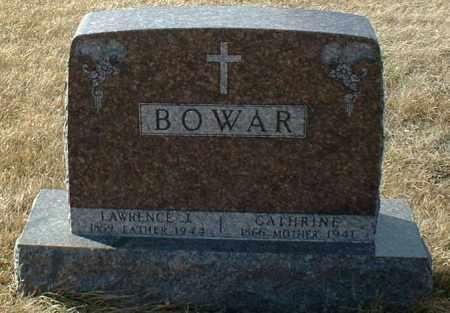 BOWAR, CATHERINE - Hutchinson County, South Dakota | CATHERINE BOWAR - South Dakota Gravestone Photos