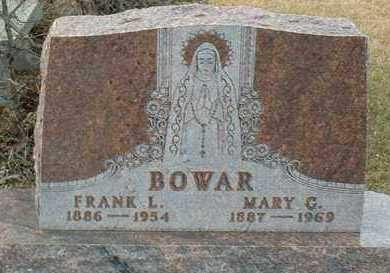 BOWAR, MARY - Hutchinson County, South Dakota | MARY BOWAR - South Dakota Gravestone Photos