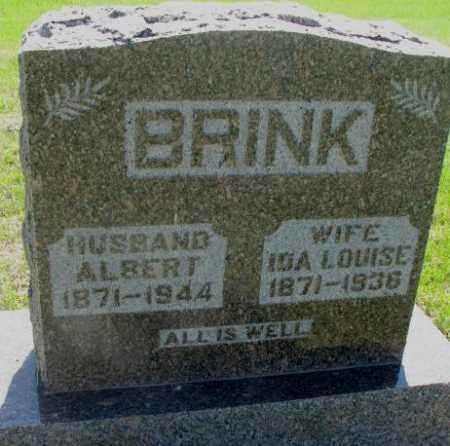 BRINK, IDA LOUISE - Hutchinson County, South Dakota | IDA LOUISE BRINK - South Dakota Gravestone Photos