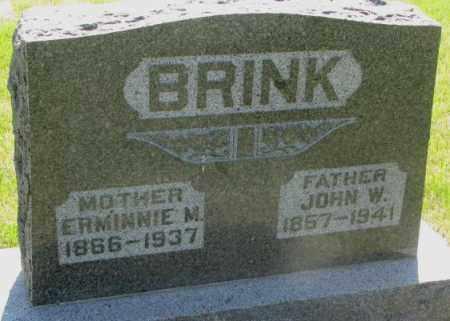 BRINK, JOHN W. - Hutchinson County, South Dakota | JOHN W. BRINK - South Dakota Gravestone Photos