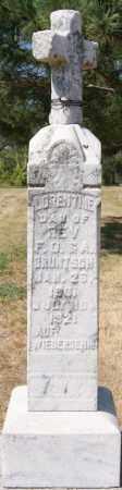 BRUNTSCH, LORENTINE - Hutchinson County, South Dakota | LORENTINE BRUNTSCH - South Dakota Gravestone Photos