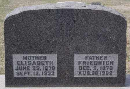 BUCHMANN, FRIEDRICH - Hutchinson County, South Dakota | FRIEDRICH BUCHMANN - South Dakota Gravestone Photos