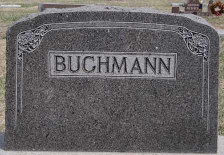 BUCHMANN, FAMILY MARKER - Hutchinson County, South Dakota | FAMILY MARKER BUCHMANN - South Dakota Gravestone Photos