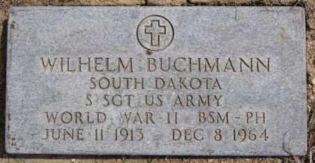 BUCHMANN, WILHELM (WWII) - Hutchinson County, South Dakota | WILHELM (WWII) BUCHMANN - South Dakota Gravestone Photos