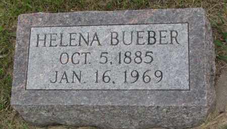 BUEBER, HELENA - Hutchinson County, South Dakota | HELENA BUEBER - South Dakota Gravestone Photos