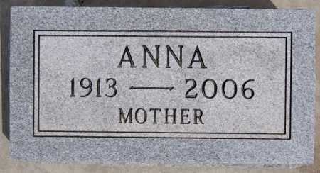 BUEHNER, ANNA - Hutchinson County, South Dakota | ANNA BUEHNER - South Dakota Gravestone Photos