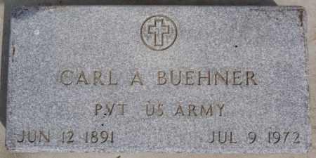 BUEHNER, CARL A (MILITARY) - Hutchinson County, South Dakota | CARL A (MILITARY) BUEHNER - South Dakota Gravestone Photos