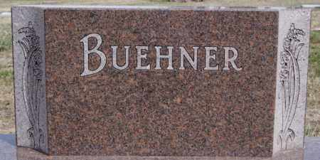 BUEHNER, FAMILY MARKER - Hutchinson County, South Dakota | FAMILY MARKER BUEHNER - South Dakota Gravestone Photos