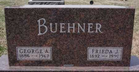 BUEHNER, GEORGE A - Hutchinson County, South Dakota | GEORGE A BUEHNER - South Dakota Gravestone Photos