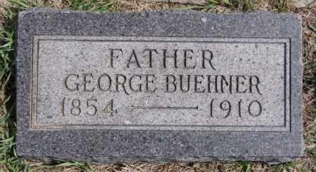 BUEHNER, GEORGE - Hutchinson County, South Dakota | GEORGE BUEHNER - South Dakota Gravestone Photos