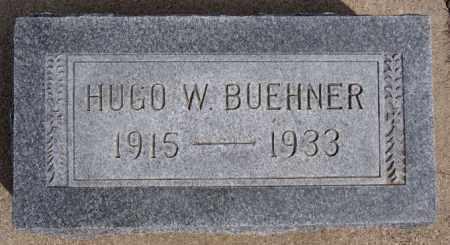 BUEHNER, HUGO W - Hutchinson County, South Dakota   HUGO W BUEHNER - South Dakota Gravestone Photos