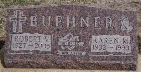 BUEHNER, KAREN M - Hutchinson County, South Dakota | KAREN M BUEHNER - South Dakota Gravestone Photos