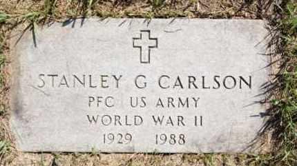 CARLSON, STANLEY G - Hutchinson County, South Dakota | STANLEY G CARLSON - South Dakota Gravestone Photos