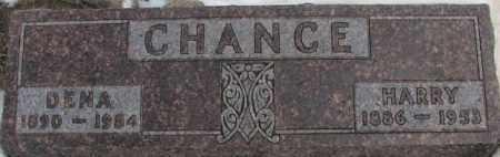 CHANCE, HARRY - Hutchinson County, South Dakota   HARRY CHANCE - South Dakota Gravestone Photos