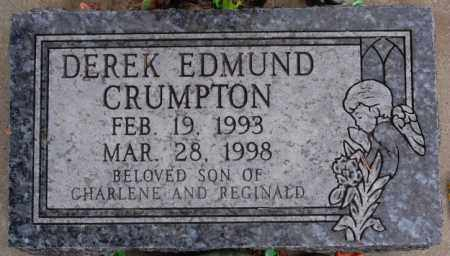 CRUMPTON, DEREK EDMUND - Hutchinson County, South Dakota | DEREK EDMUND CRUMPTON - South Dakota Gravestone Photos