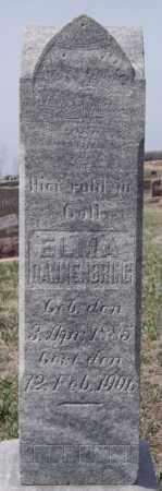 DANNENBRING, ELMA - Hutchinson County, South Dakota   ELMA DANNENBRING - South Dakota Gravestone Photos