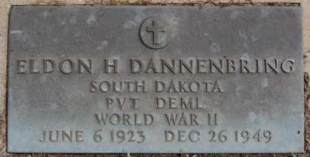 DANNENBRING, ELDON H (WWII) - Hutchinson County, South Dakota | ELDON H (WWII) DANNENBRING - South Dakota Gravestone Photos