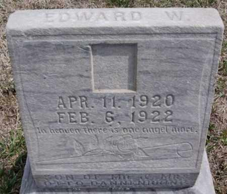DANNENBRING, EDWARD W - Hutchinson County, South Dakota | EDWARD W DANNENBRING - South Dakota Gravestone Photos