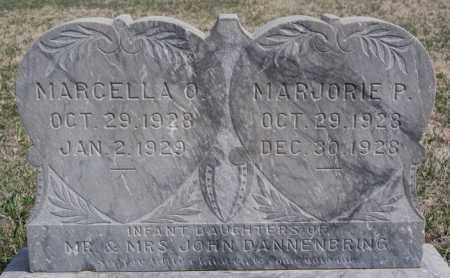 DANNENBRING, MARCELLA O - Hutchinson County, South Dakota | MARCELLA O DANNENBRING - South Dakota Gravestone Photos