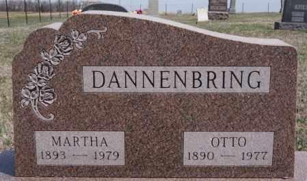 DANNENBRING, MARTHA - Hutchinson County, South Dakota | MARTHA DANNENBRING - South Dakota Gravestone Photos