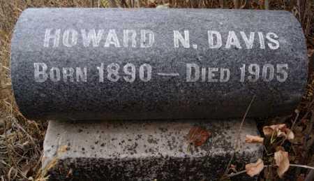 DAVIS, HOWARD N - Hutchinson County, South Dakota | HOWARD N DAVIS - South Dakota Gravestone Photos