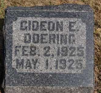 DOERING, GIDEON E - Hutchinson County, South Dakota | GIDEON E DOERING - South Dakota Gravestone Photos