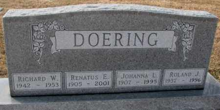 DOERING, ROLAND J. - Hutchinson County, South Dakota | ROLAND J. DOERING - South Dakota Gravestone Photos