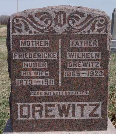 DREWITZ, WILHELM - Hutchinson County, South Dakota | WILHELM DREWITZ - South Dakota Gravestone Photos