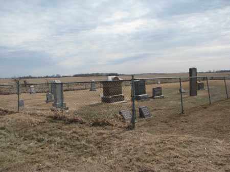 *EBENEZER REFORMED, WIDE VIEW & NOTES - Hutchinson County, South Dakota   WIDE VIEW & NOTES *EBENEZER REFORMED - South Dakota Gravestone Photos