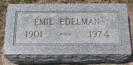 EDELMAN, EMIL - Hutchinson County, South Dakota   EMIL EDELMAN - South Dakota Gravestone Photos