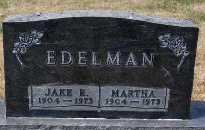 EDELMAN, MARTHA - Hutchinson County, South Dakota | MARTHA EDELMAN - South Dakota Gravestone Photos