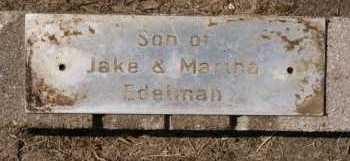 EDELMAN, SON - Hutchinson County, South Dakota   SON EDELMAN - South Dakota Gravestone Photos