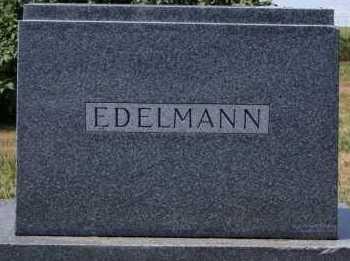 EDELMANN, FAMILY MARKER - Hutchinson County, South Dakota | FAMILY MARKER EDELMANN - South Dakota Gravestone Photos