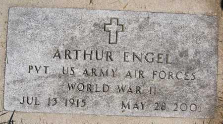 ENGEL, ARTHUR (WW II) - Hutchinson County, South Dakota | ARTHUR (WW II) ENGEL - South Dakota Gravestone Photos