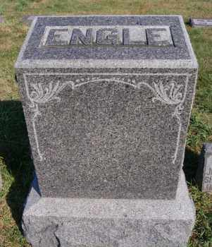 ENGLE, FAMILY MARKER - Hutchinson County, South Dakota | FAMILY MARKER ENGLE - South Dakota Gravestone Photos