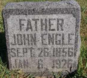ENGLE, JOHN - Hutchinson County, South Dakota | JOHN ENGLE - South Dakota Gravestone Photos