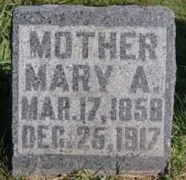 ENGLE, MARY ANN - Hutchinson County, South Dakota | MARY ANN ENGLE - South Dakota Gravestone Photos