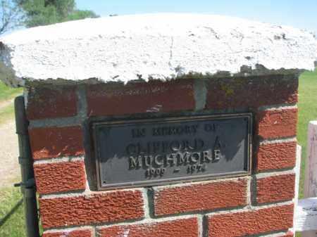 *ENTRANCE MEMORIAL, MUCHMORE - Hutchinson County, South Dakota | MUCHMORE *ENTRANCE MEMORIAL - South Dakota Gravestone Photos