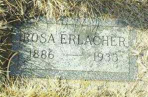 ERLACHER, ROSA - Hutchinson County, South Dakota | ROSA ERLACHER - South Dakota Gravestone Photos